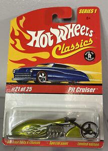 2004 Hot Wheels Classics Series 1 Pit Cruiser Light Green #21 of 25