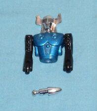 vintage Mego Micronauts BLUE ACROYEAR II PARTS LOT #7 head torso arms missile