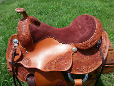"16"" Spur Saddlery Arabian Reining Pleasure Saddle (Made in Texas) Arab Trail"
