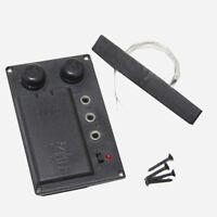 Electric Cello Pickup Preamp EQ -Electric Cello Silent Pickup W/Cello Piezo-756#