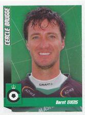 N°039 BERNT EVENS # BELGIQUE CERCLE BRUGGE.KSV STICKER PANINI FOOTBALL 2011