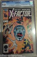X-Factor #6 Comic Book - Marvel 1986 CGC 9.8 1st Appearance Apocalypse