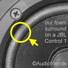 Repairkit JBL Control 1 (One)> 2x surrounds + 1x glue + 1x brush - FREE SHIPMENT