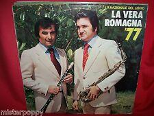 LA NAZIONALE DEL LISCIO La vera Romagna '77 LP ITALY 1977 MINT-