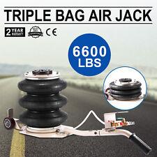 3 Ton Triple Bag Air Jack Pneumatic Jack Lifting Lift Jack 6600LBS Jacking Tool