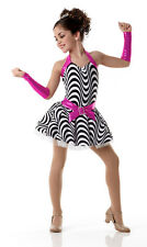 Can't Stop The Beat Dance Costume Tap Ballet Dress/Mitts Clearance Child X-Small