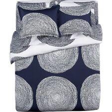 Crate & and Barrel Marimekko Pippurikera Navy King Pillow Sham x 1-Nwot