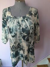 Simply Irresistible Plus Size Woman 1X Top Sweater Tunic Lace New