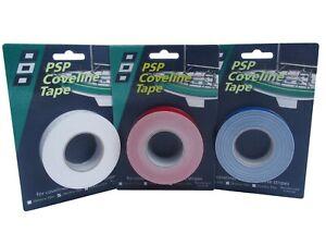 PSP Coverline Tape in 4 Farben,19mmx15m, uni-farbene selbstklebende Zierstreifen