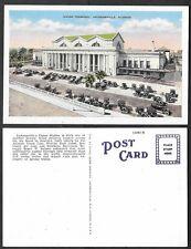 Old Florida Railroad Postcard - Jacksonville - Union Terminal Station, Depot