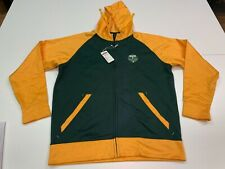 Portland Timbers MLS Soccer Men's Green/Yellow Hoodie - Large - NWT