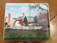 "vintage ""farmstead"" tin, edward sharp & sons tin, made in england,maidstone kent"