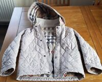 Genuine Burberry girl coat - 4 years