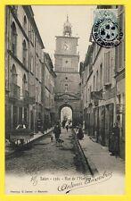 cpa SALON DE PROVENCE (Bouches du Rhône) Rue de l'HORLOGE Commerces Epicerie