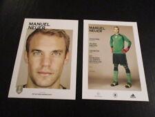 09022018 Manuel Neuer DFB Karte unsignierte Autogrammkarte 2018 WM