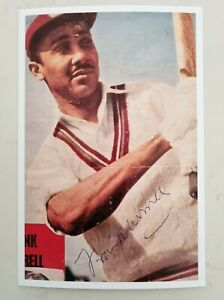 Sir Frank Worrell Reproduction Signature 6 X 4 Inch Photo Not Signed