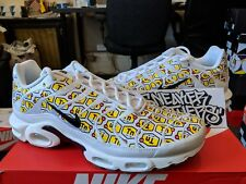 Nike Air Max Plus TN Tuned All Over Print AOP White Yellow Black 903287-100