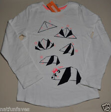 Gymboree girls size 5 NWT how to make a panda bear top long sleeve 100% cotton