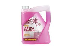 5L MANNOL AF12+ Red Antifreeze Coolant Concentrated to -40�C Longlife