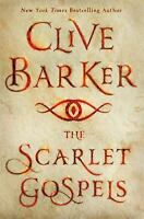 The Scarlet Gospels  by Clive Barker a hardcover book novel FREE SHIPPING