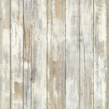 Distressed Wood Rustic Plank Peel & Stick DIY Wallpaper Wall Decal Sticker Decor