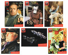 Lost Worlds of Gerry Anderson 6 Preview Promo Card Set PR1-PR6 Not Thunderbirds