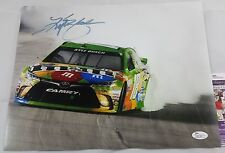 Kyle BUSCH 11x14 Autographed Photo Signed JSA COA NASCAR RACING