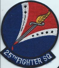 25 Fighter Squadron Air Force Squadron patch  #2