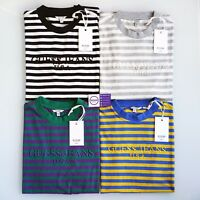 GUESS x ASAP A$AP ROCKY STRIPED DAVID REACTIVE TEE M L XL XS S Blue Grey Teal