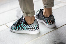 Scarpe da ginnastica grigi per donna superstar
