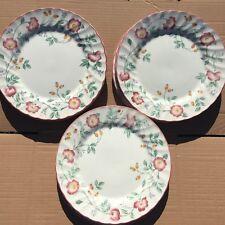 Set of 10 Churchill Briar Rose Dinner Plates