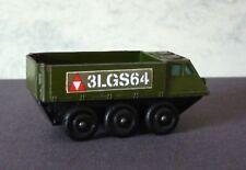 Matchbox Lesney Stickers for the Rarer Olive Military Model 61b Alvis Stalwart