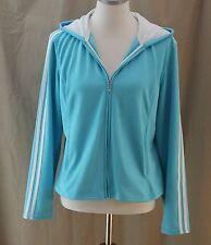 Athletic Works, Large (12/14), Neptune Blue Hooded Zippered Jacket