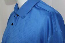 NIKE GOLF Men's XL FIT-DRY Blue Active Short Sleeve Shirt