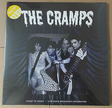 THE CRAMPS - Coast To Coast YELLOW Vinyl Double LP (NEW & SEALED) Gatefold