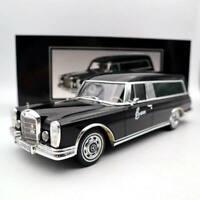 1:18 SCHUCO Mercedes-Benz 600 HEARSE  FUNERAL CAR 1965 CARRO FUNEBRE black