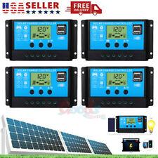 2X MPPT Solar Panel Regulator Charge Controller Auto Focus Tracking 30-100A USB