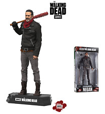 "WALKING DEAD TV SERIES NEGAN 7"" ACTION FIGURE McFARLANE COLOUR TOPS 18cm"