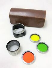 Rollei F&H Franke & Heidecke Lens Color Filter Set w/Rolleiparkeil Close Up Lens