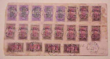 TOGO 10 or MORE STAMPS on 1917 COVER WITH 20 STAMPS