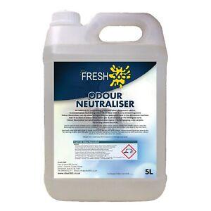 Urine Odour Neutraliser Bathroom Toilet Carpet Pet Smell Deoderiser Lemon 5L