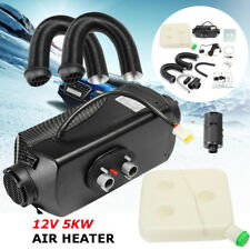 5kW 12V Air Diesel Heater Planar 2xVent Duct For Car Trucks Motor-homes Boat Bus
