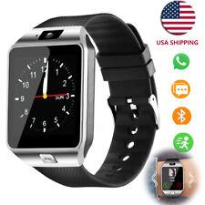 Bluetooth Smartwatch Touchscreen Wrist Smart Phone Watch for Android Men Women