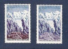 """SUPERBE et RARE VARIETE MAURY N° 1454 a """"violet absent bleu unicolore"""" cote 750€"""