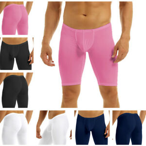 Men's Fitness Shorts Half Pants Yoga Quick Dry Compression Base Layer Swimsuit