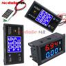 Digital DC 50V 5A 100V 10A Voltage Current Power Meter LCD Voltmeter Ammeter