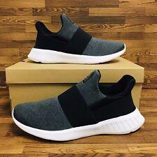 *NEW* Reebok Lite Slip On (Women's Size 8.5) Running Sneakers Gray Black Shoes