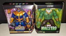 Marvel Legends Infinity Gauntlets Thanos Maestro Hulk Deluxe Lot
