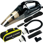 Vacuum Cleaner High Power, Upgraded 120W Wet & Dry Handheld Car Vacuum Cleaner  <br/> Top USA Seller-Free Shipping-100% Money Back Guarantee