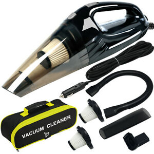 Vacuum Cleaner High Power, Upgraded 120W Wet & Dry Handheld Car Vacuum Cleaner